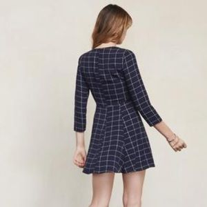 Reformation Dresses - Reformation the Jelly Casual Dress Navy